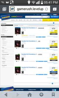 Blockbuster: Resident evil revelation 2 a $479 para PS4, PS3, Xbox One y 360