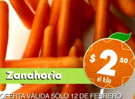 Miércoles de Plaza en La comer febrero 12: zanahoria $2.50 el kilo y más