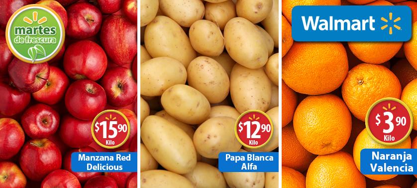 Martes de frescura Walmart abril 28: naranja Valencia $3.90 y más