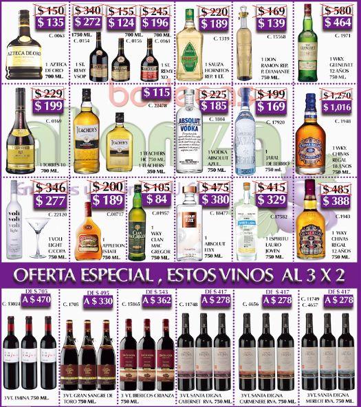 Bodegas Alianza: Chivas Regal $388, Torres 10 $199, Aboslut $185 y más