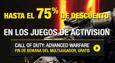 Steam: fin de semana multijugador Call of Duty Advanced Warfare gratis y ofertas de Activison
