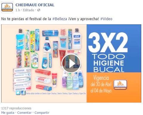 Chedraui: 3x2 en Higiene Bucal y Afeitado y Bonificación en Cremas Depiladoras