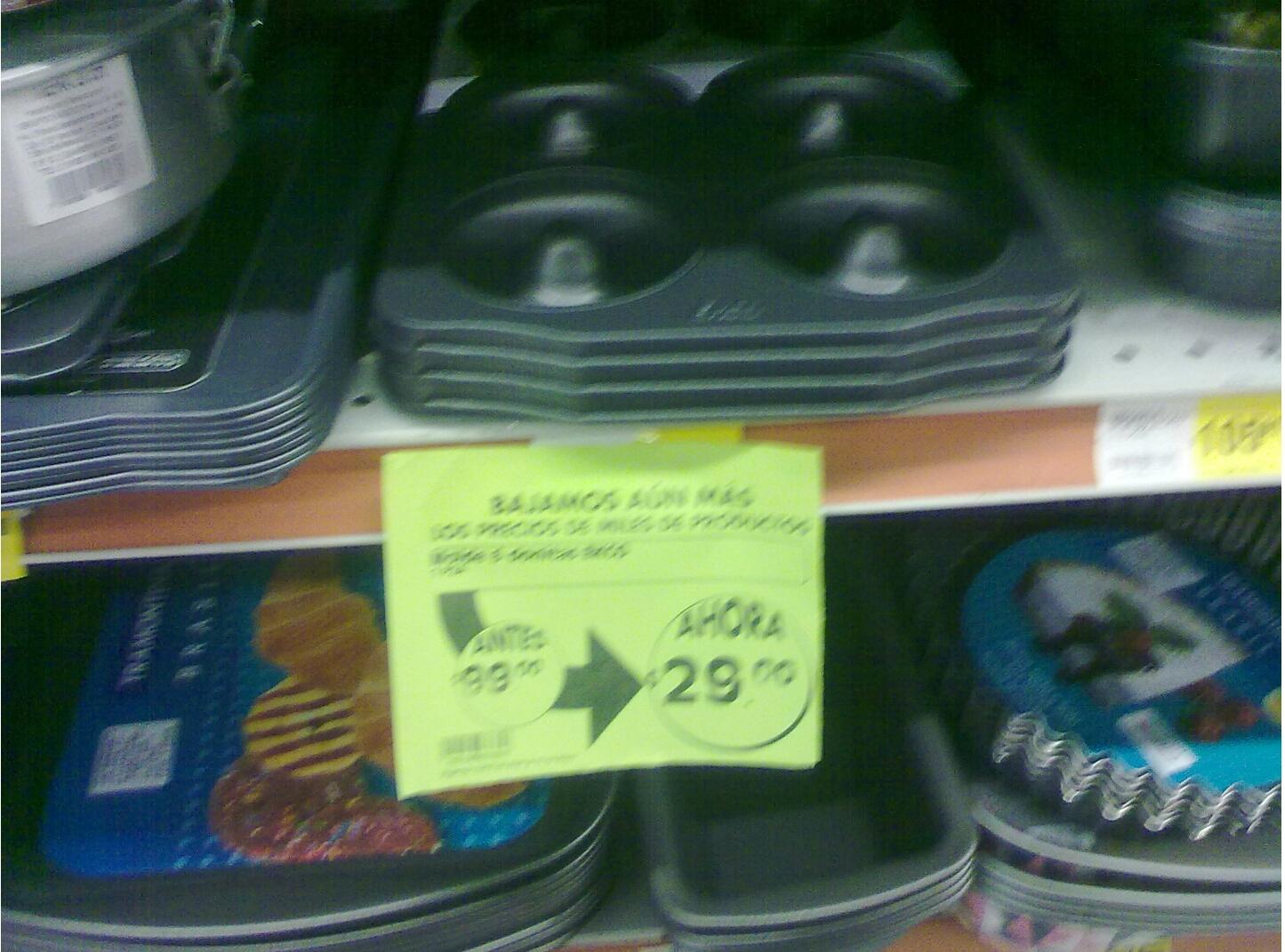 La Comer: Molde para donas marca Ekco de $99 a $29 pesos