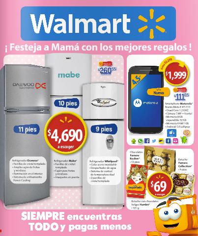 Walmart: Folleto al 10 de Mayo
