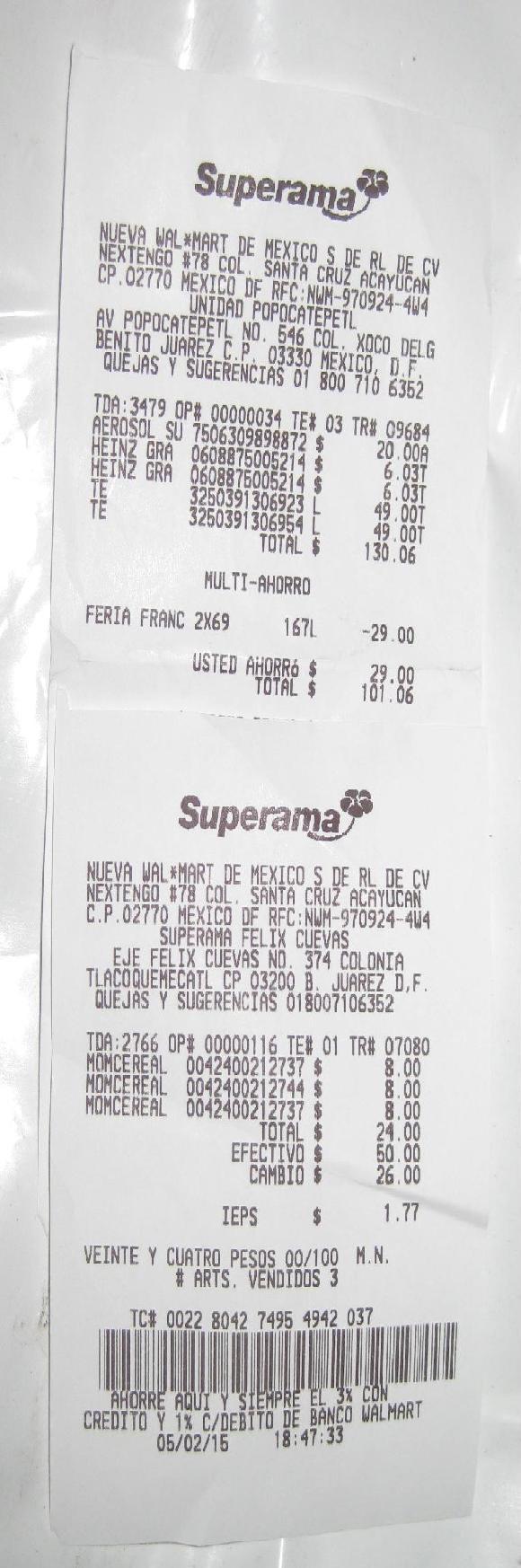 Superama: Cereal a 8 pesos