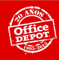 Office Depot Ofertas 20 años (Ej. iPad Air 2 16GB a $5,699)
