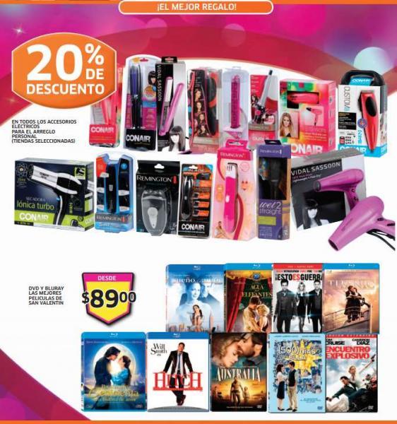 Folleto de ofertas en Soriana del 7 al 13 de febrero