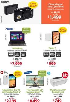 PCEL: laptop con Intel Core i5 y 6GB de RAM $7,999 y cámara Sony 16MP y zoom 8X $1,499