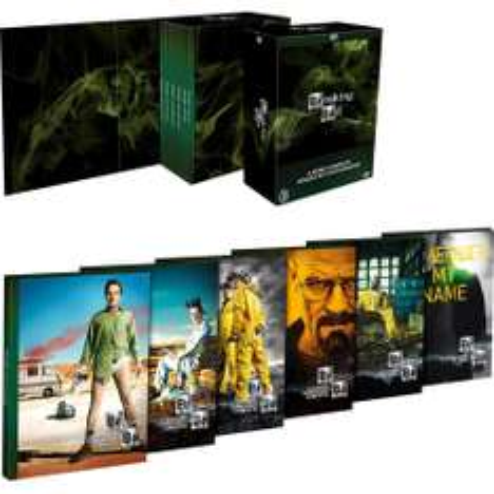 Linio: Breaking Bad La Serie Completa En DVD $640