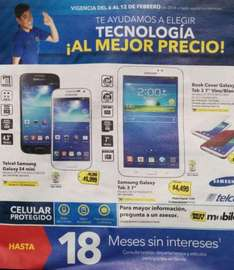 Folleto de ofertas en Best Buy del 6 al 12 de febrero