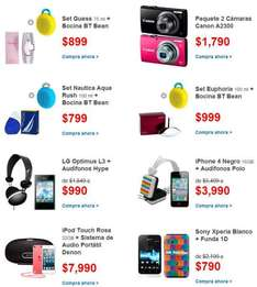 Walmart: iPhone 4 16GB + audífonos $3,990 o LG Optimus L3 + audífonos $990