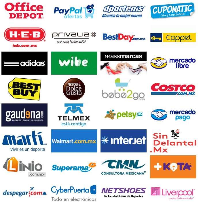 Tiendas participantes Hot Sale México 2015