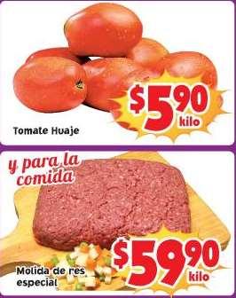 Ofertas de frutas y verduras en Soriana 4 y 5 de febrero: tomate $5.90 el kilo y más
