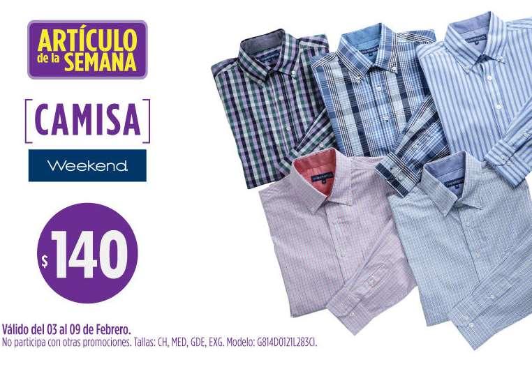 Artículo de la semana en Suburbia: camisa manga larga $140