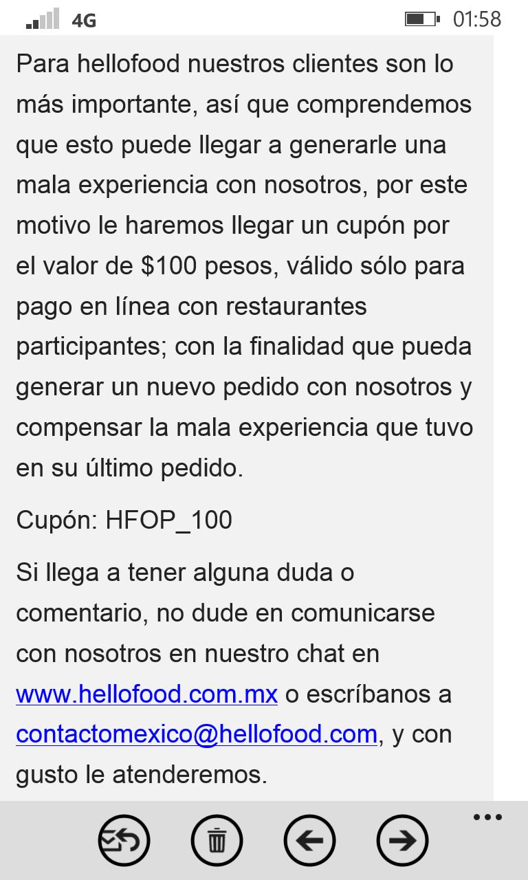 HELLOFOOD: $100 de descuento en restaurantes seleccionados