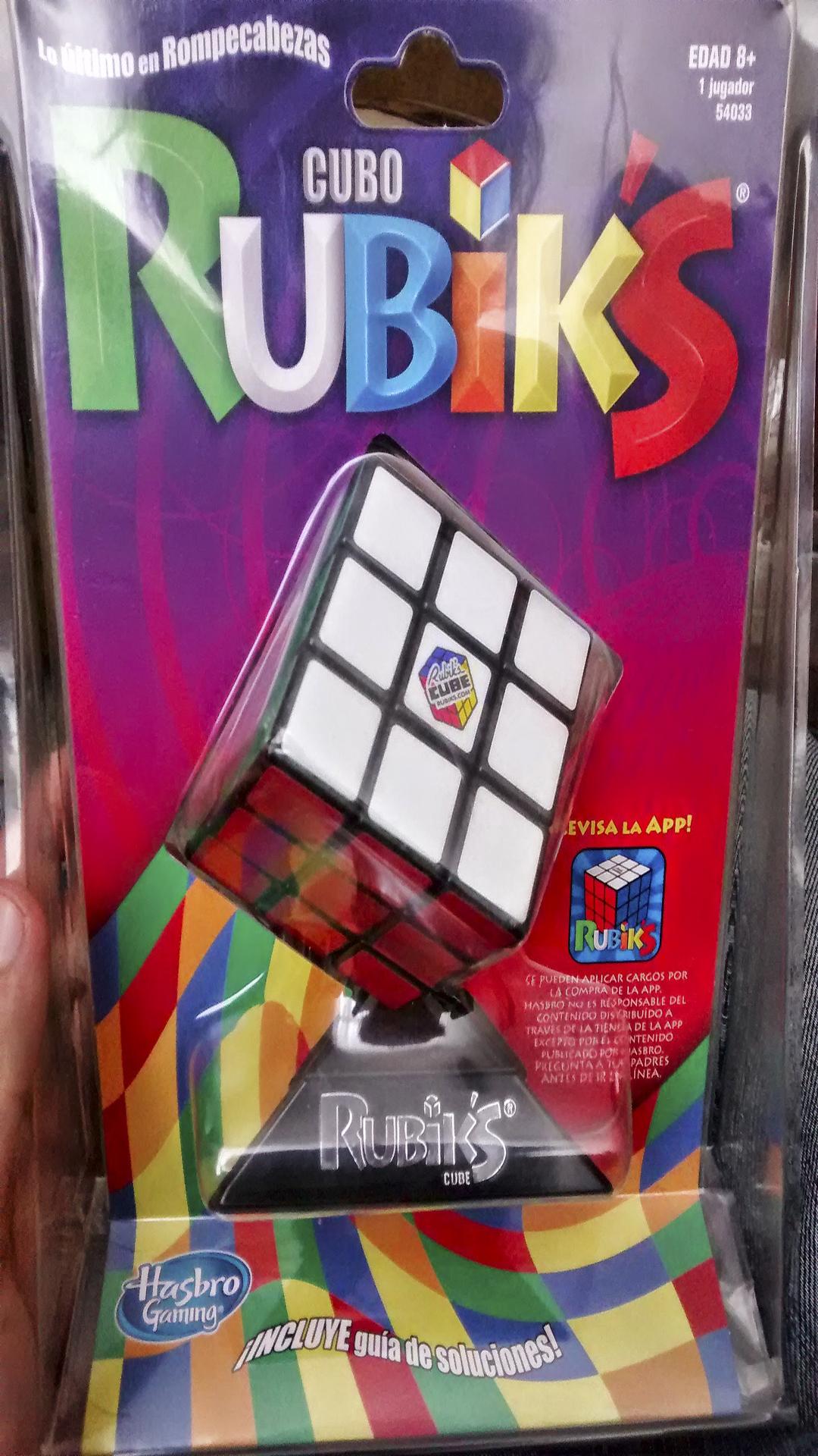 Bodega Comercial Mexicana: Cubo Rubik's a $48 pesos