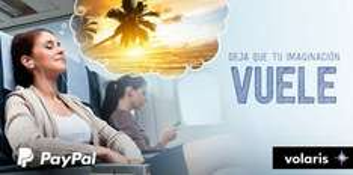 Volaris: 6 meses de VClub gratis y meses sin intereses pagando con PayPal