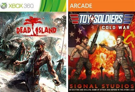 Xbox Live: Dead Island y Toy Soldiers gratis en febrero para suscriptores Gold