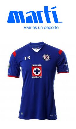 Martí: Jersey del Cruz Azul $250