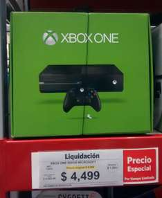 Sam's Club: Xbox One sin kinect sin juegos $4,499