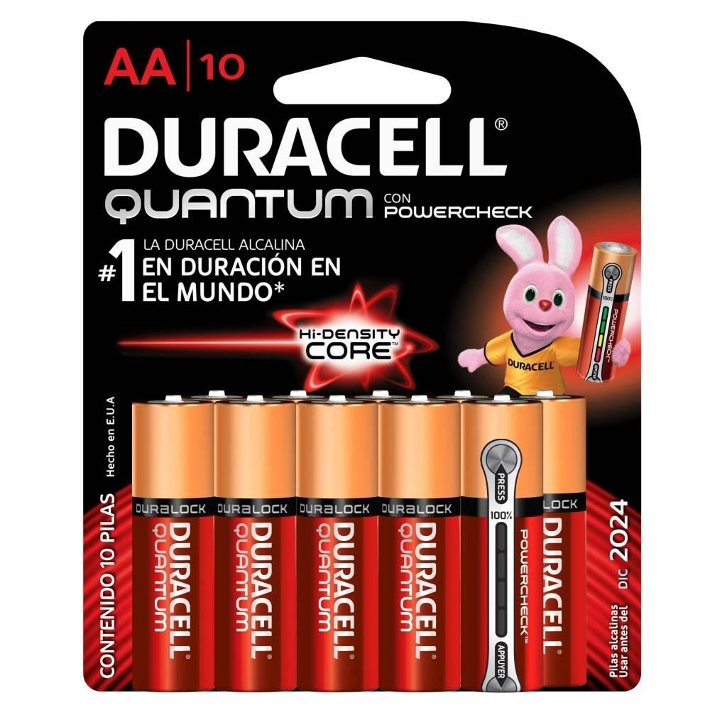 Linio: Pilas Duracell Quantum AA con 4 piezas + 2 Pilas a $49 (Envío Gratis con Linio Plus)