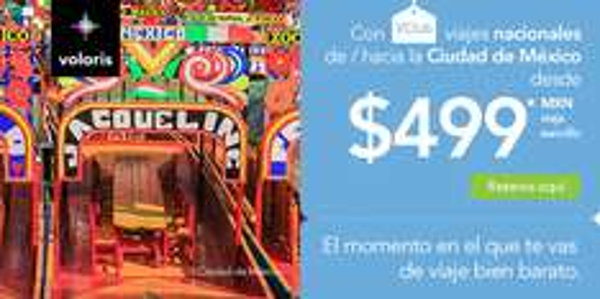 Volaris VCLUB: vuelos sencillos a $499 SOLO HOY