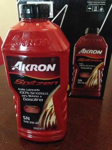 Walmart: aceite akron spitzen 100% sintetico a $14.04