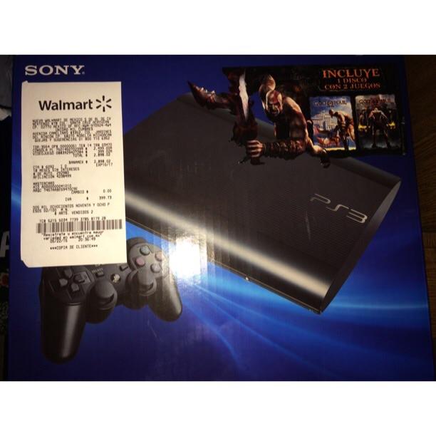 Walmart: PS3 de 12GB a $2,499.00