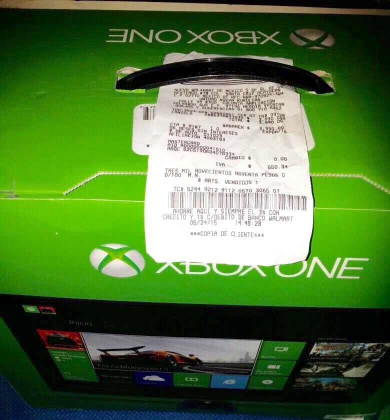 Bodega Aurrerá: Xbox One 500GB con FIFA 15 a $3,990