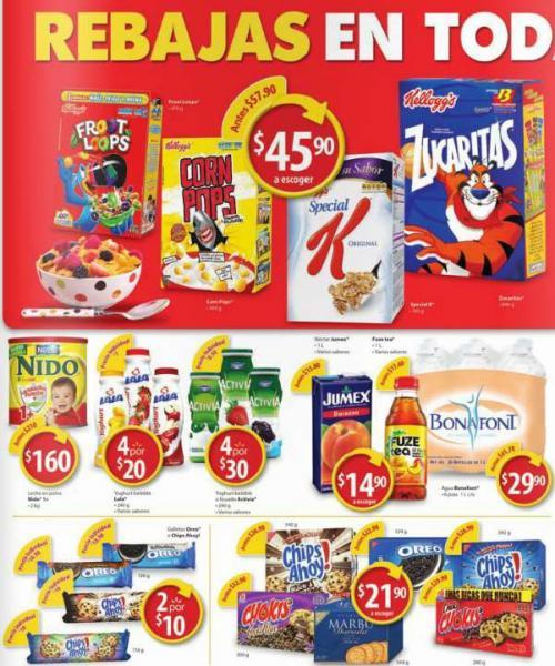 Folleto de ofertas en Walmart del 28 de enero al 4 de febrero