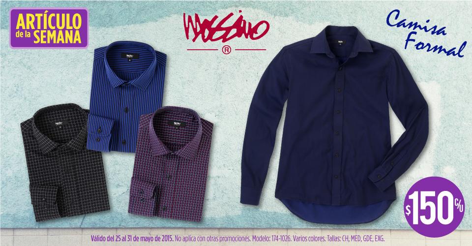 Suburbia: camisa formal Mossimo a $150