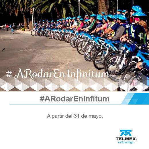 Préstamos de bicicletas gratis para clientes de Telmex Infinitum