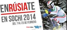 Clarovideo: un mes gratis para clientes Infinitum incluyendo olimpiadas Sochi 2014
