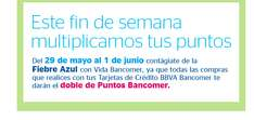 Promoción Hot Sale 2015: Doble Puntos Bancomer
