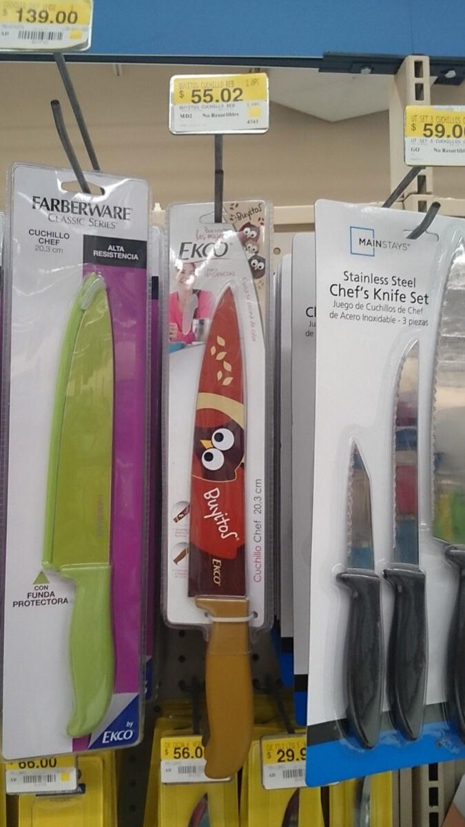 Walmart: cuchillos Buyitos a $35.03