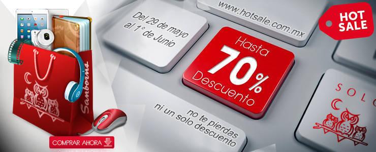 """Promociones de Hot Sale en Sanborns: Descuentos de """"hasta"""" el 70%"""