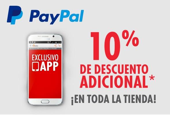 Promoción del Hot Sale 2015 en Linio: 10% de descuento en TODA la tienda pagando con Paypal
