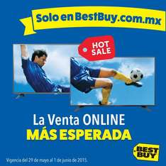 Promociones de Hot Sale 2015 en Best Buy