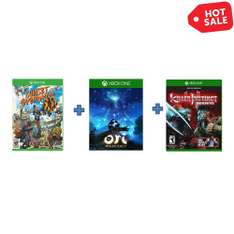 Promoción Hot Sale 2015 en Walmart: Paquete Xbox One Killer Instinct, Sunset Overdrive, Ori And The Blind Forest a $899