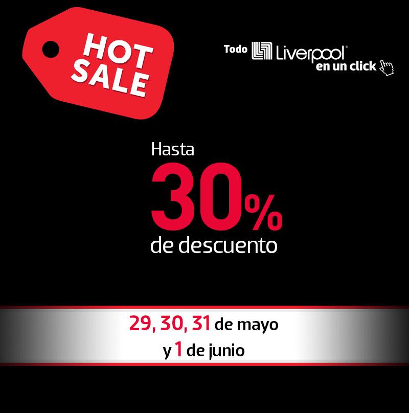 Promociones para el Hot Sale 2015 en Liverpool