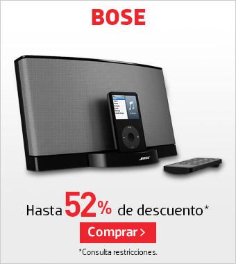 Promoción de Hot Sale 2015 en Liverpool: Bose con hasta 52% de descuento