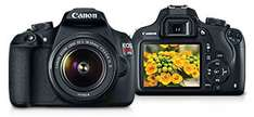 HOT SALE Canon: EOS Rebel T5 + Lente EF-S 18-55mm f/3,5-5,6 II (REACONDICIONADO)