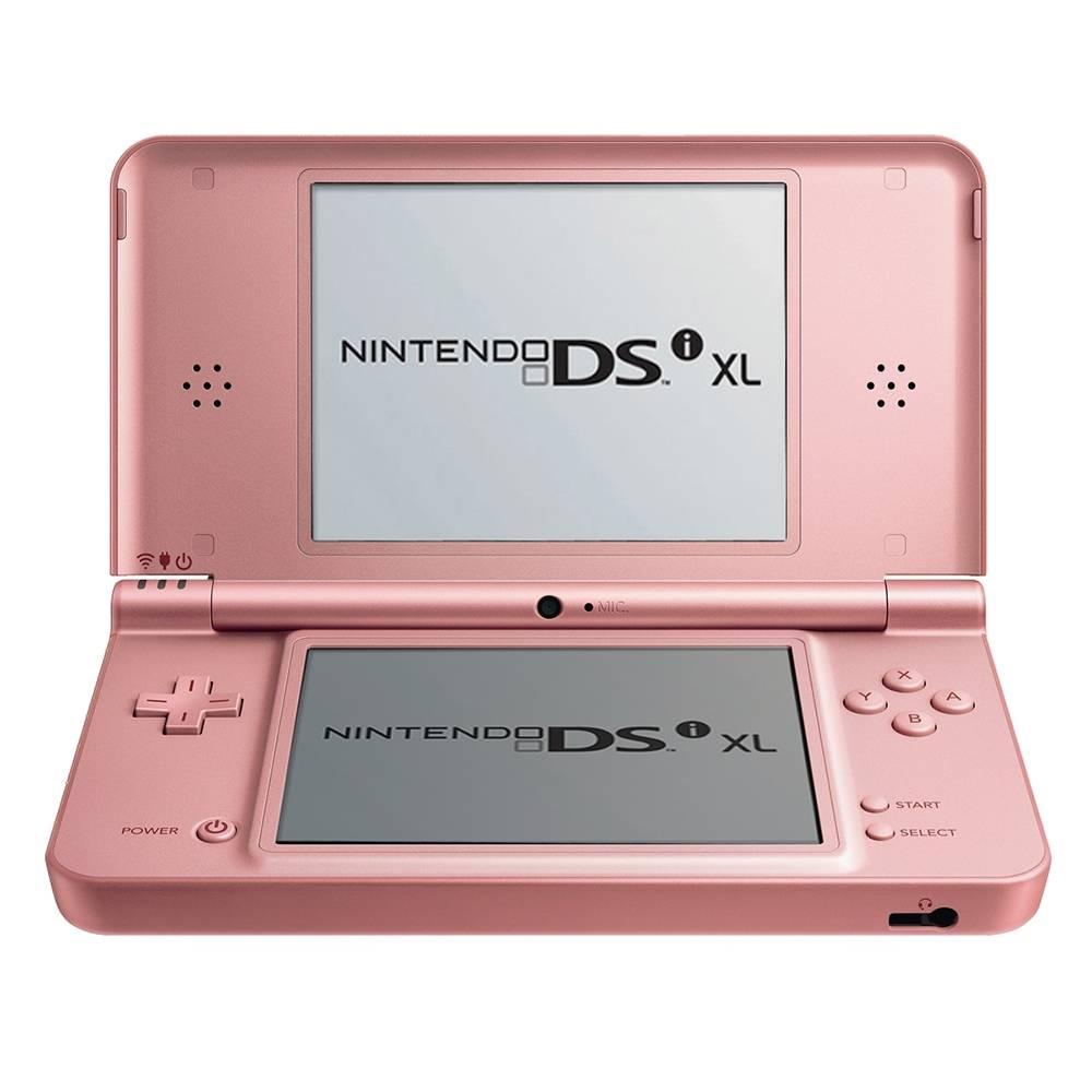 Hot Sale Walmart: Nintendo DSi XL Rosa con 3 titulos preinstalados ($494 con Mercado Pago + cupón)