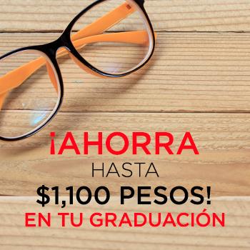Devlyn: hasta $1,100 de descuento en graduación de tu lente