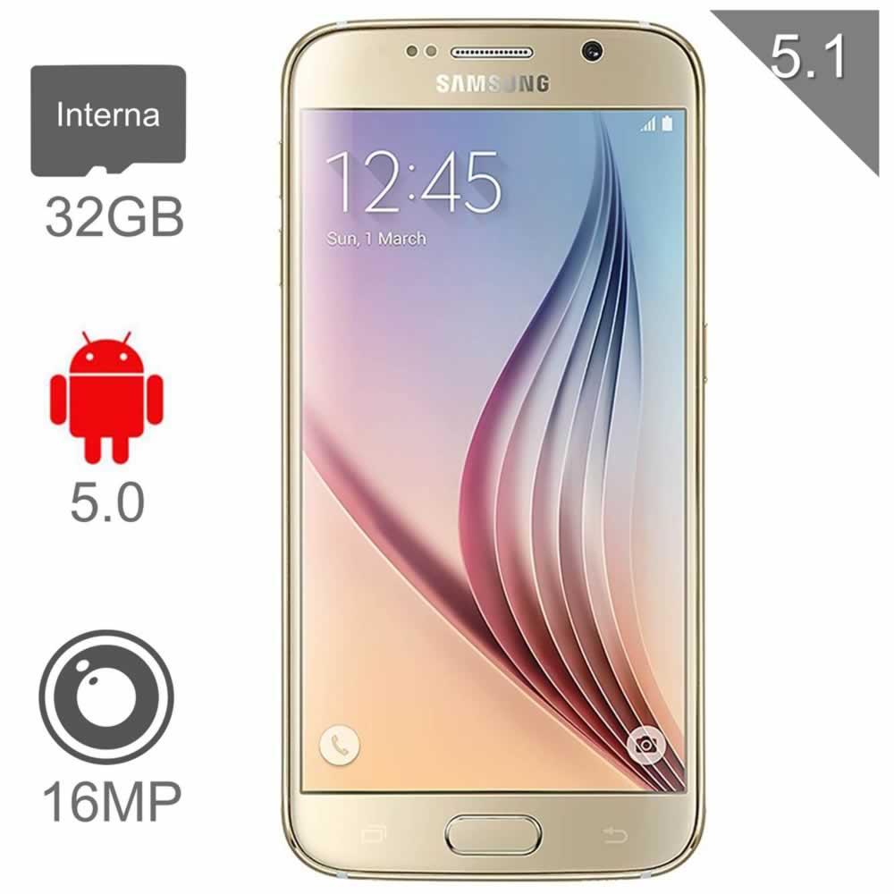 Waltmart: Galaxy s6 flat de  $11999 a $10666