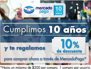 Mercado Pago: 10% de descuento en Groupon, Famsa, Me quedo uno y Walmart
