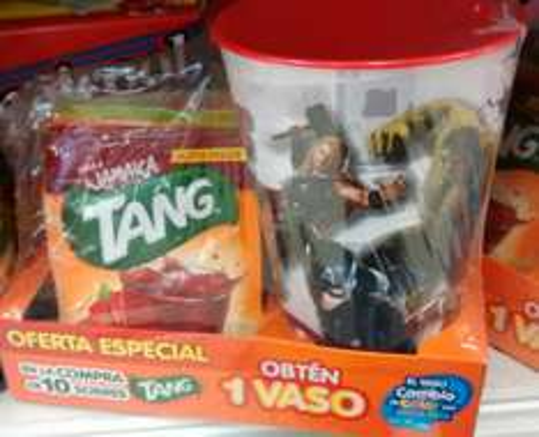 Soriana: 10 sobres de TANG + Vaso Grande de Avengers Gratis.