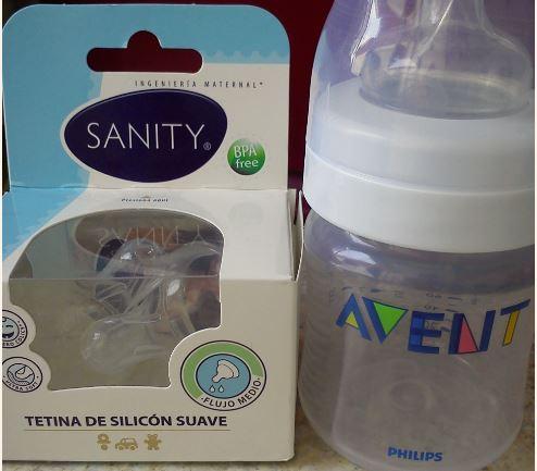 Walmart: 2 mamilas Sanity (compatibles con Avent) $10.02