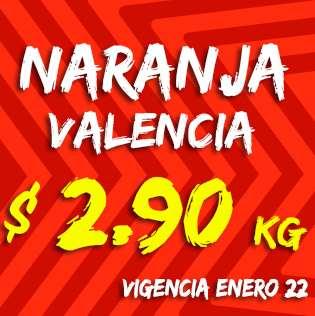 Miércoles de Plaza en La Comer enero 22: naranja $2.90 el kilo y más