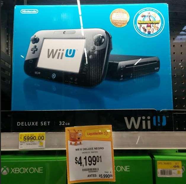 Walmart: Wii U 32GB con NintendoLand $4,199.01